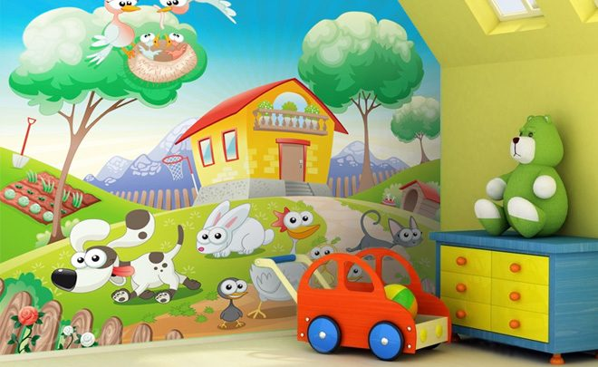 Toddler-at-a-farm-for-children-wallpapers-demur