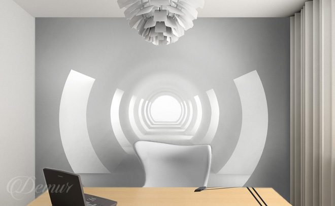 Tunnel-the-office-sublimity-office-wallpapers-demur