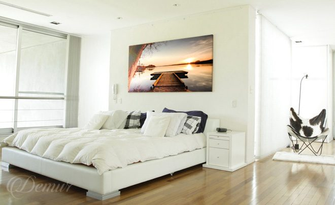 On-the-lake-surface-bedroom-serenity-bedroom-canvas-prints-demur