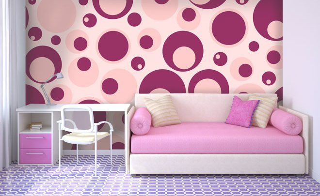 Rouge-and-violet-girls-room-wallpapers-demur