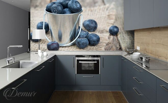 A-bucket-of-blueberries-kitchen-wallpapers-demur