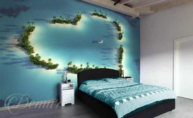 The Heart Of The Ocean Bedroom Wallpapers Demur