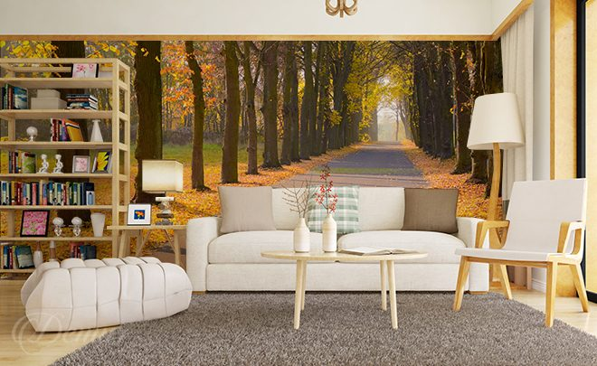 A-walk-at-the-park-living-room-wallpapers-demur