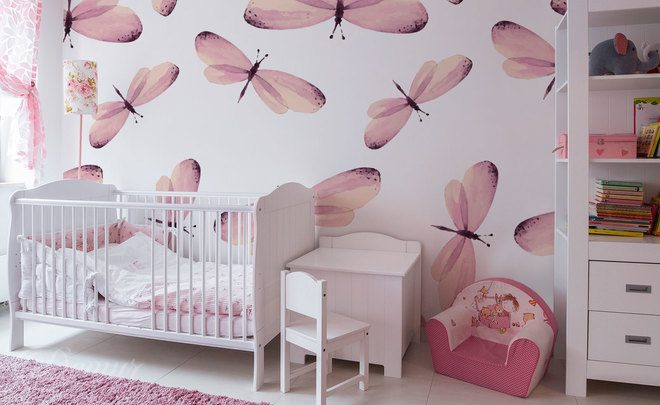 A-flutter-of-butterfly-wings-girls-room-wallpapers-demur