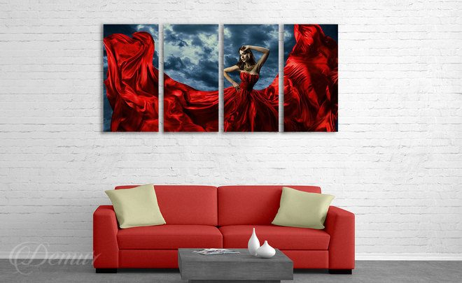 A-woman-a-tangle-of-emotions-of-people-canvas-prints-demur