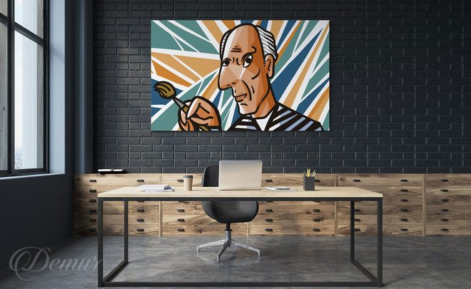 Let-picasso-look-from-the-wall-picasso-canvas-prints-demur