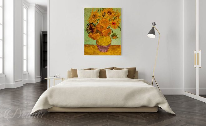 Sunflower-classic-on-the-wall-van-gogh-canvas-prints-demur